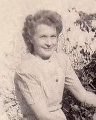 My grandmother Opal Eileen Robertson Cottrell born TX 21 Aug 1898, died VA 15 Mar 1995