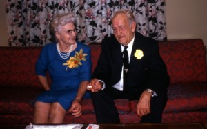 50th anniversary, Opal and Clay Cottrell