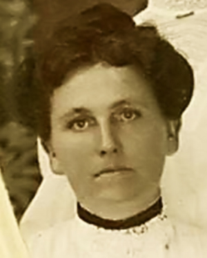 Nettie (Cottrell) Holley c1900