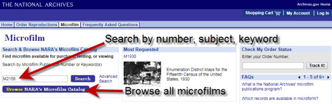 Microfilm page