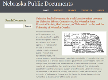 Nebraska Public Documents