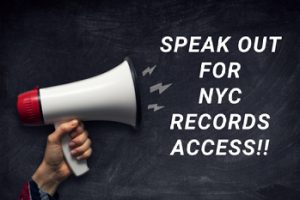 NYC records access