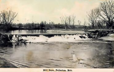 Nebraska mill dam