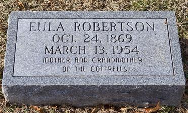 Eula Robertson stone