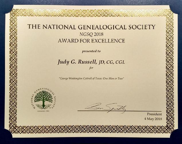 NGS award