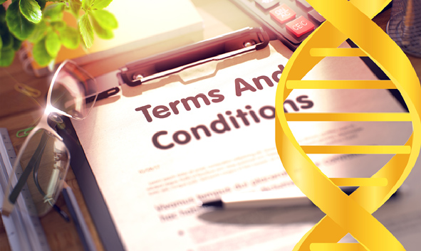 DNA terms and conditions