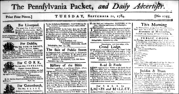 The Pennsylvania Packet