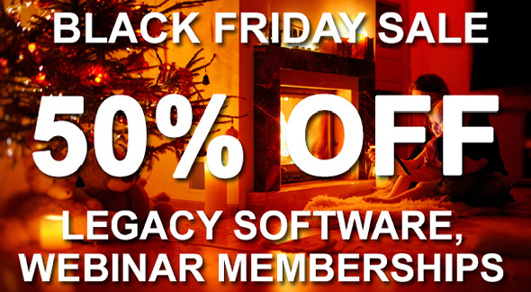 Legacy webinar sale