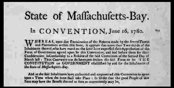 1780 Constitution