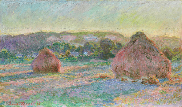Monet Stacks of Wheat