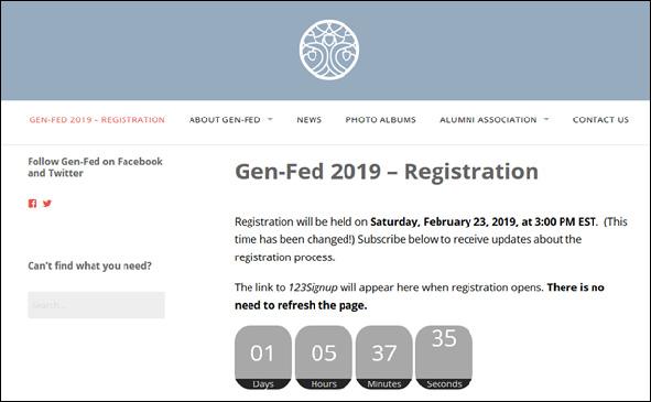 Gen-Fed 2019