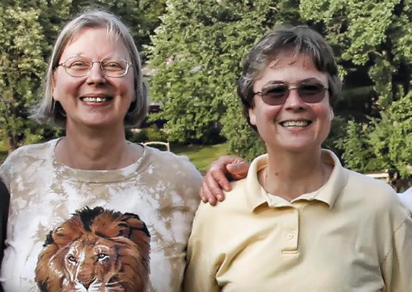 Diana and Judy
