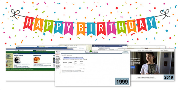 FamilySearch birthday