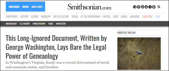 Smithsonian article
