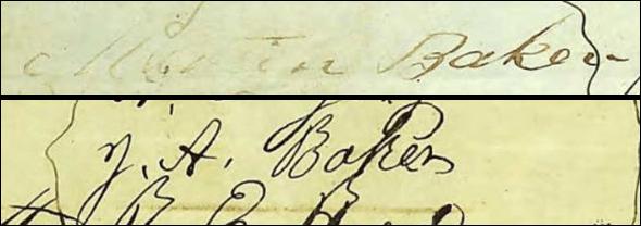 Baker signatures