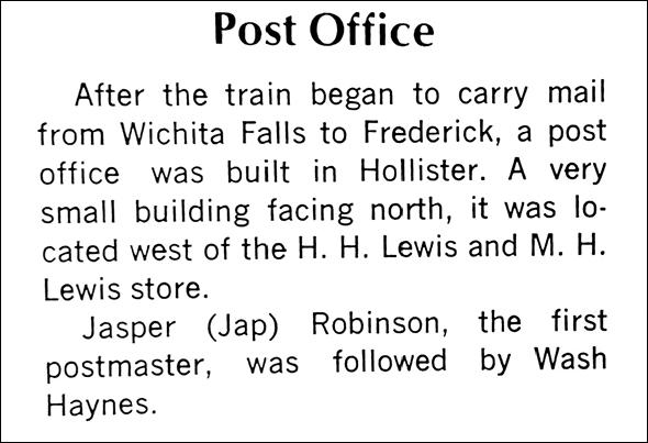 Hollister history