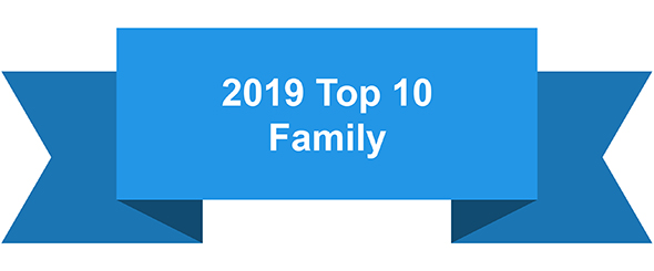 top 10 family 2019