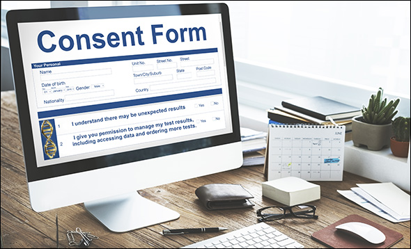 DNA consent form