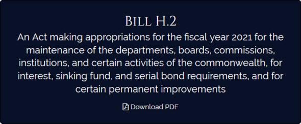 Massachusetts budget