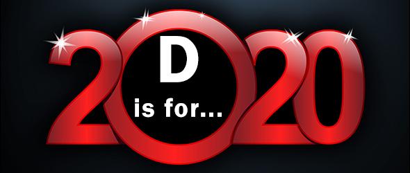 2020 letter D
