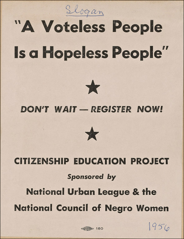 voter flyer