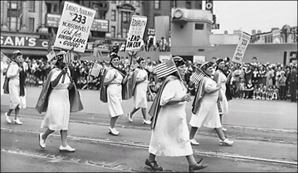 Labor Day parade 1942