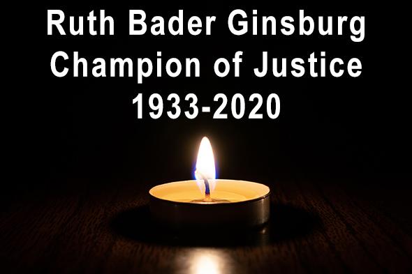 Death of Ruth Bader Ginsburg