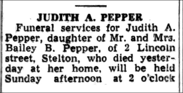 Judith Pepper