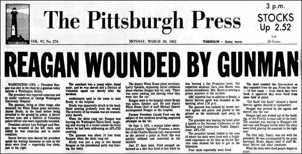 Reagan headline