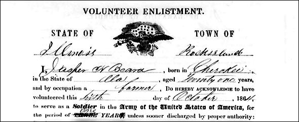 Jasper enlistment